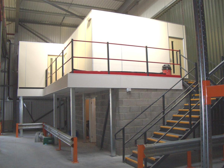 1 Large Mezzanine Floor Installation
