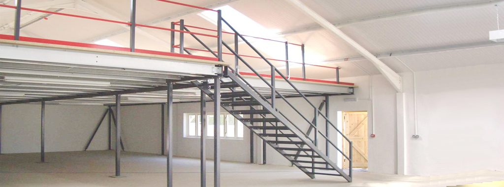 Mezzanine floor installation hampshire mezzanine floors for How to build a mezzanine floor in your home