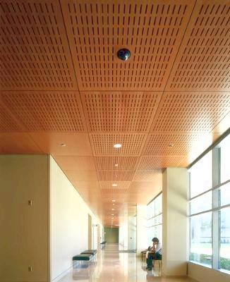 Curved Amp Open Grid Ceilings Mezzanine Floor Installation