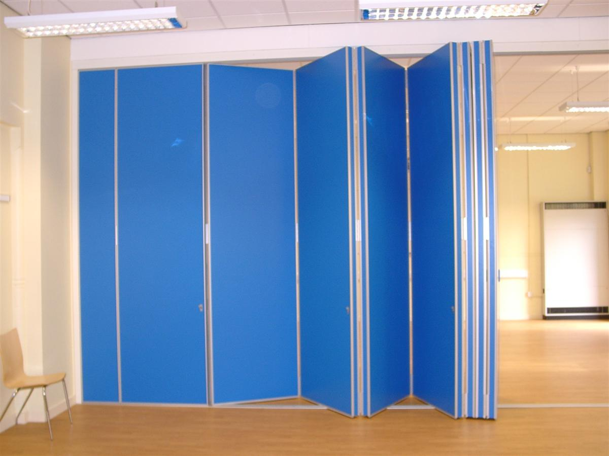 Folding Partitions Sliding Partition Doors Installation