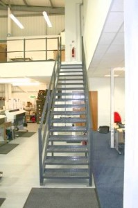 steel part k staircase 3