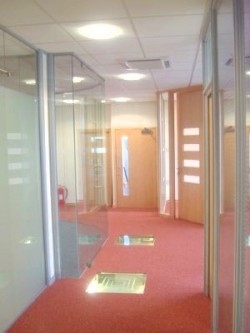 Full Glazed Partitions