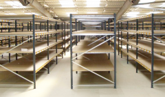Racking and shelving installations